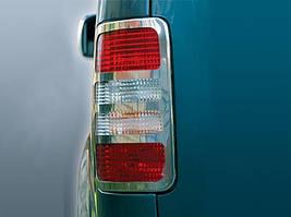 Volkswagen Caddy OmsaLine Накладки на стопы / Накладки на фонари Фольксваген Кадди