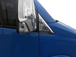 Volkswagen Crafter накладка на треугольник возле зеркала кармос / Накладки на зеркала Фольксваген Крафтер