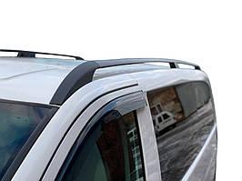 Mercedes Vito 639 Черные рейлинги ELITE с пластиковым креплением короткая база / Рейлинги Мерседес Бенц Вито