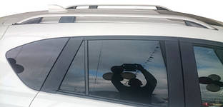 Рейлинги Skyport Grey (2 шт) Mazda CX-5 2012-2017 гг. / Рейлинги Мазда CX-5