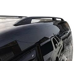 Volkswagen Caddy 2015↗ Рейлинги Skyport BLACK на макси базу / Рейлинги Фольксваген Кадди