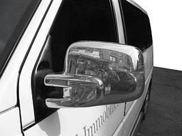 Фольксваген Т4 Накладки на зеркала Кармос / Накладки на зеркала Фольксваген Т4 (Транспортер)
