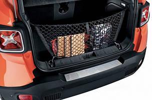 Накладка на задний бампер (нерж) Jeep Renegade / Накладки на задний бампер Джип