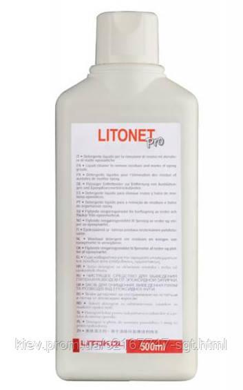 Litokol LITONET PRO - очиститель с высокой вязкостью для выведения пятен и разводов  0,5 л ( LNETPRO0500 )  -  СГТ в Киеве