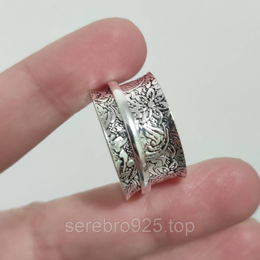 Кольцо (спиннер) в серебре 21 р.