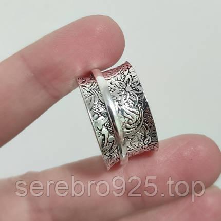 Кольцо (спиннер) в серебре 21 р., фото 2