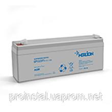 Аккумуляторная батарея MERLION AGM GP1223F1 12 V 2,3Ah ( 178 x 35 x 60 (65) ) Q10