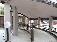 Тканевой потолок для летнего кафе