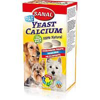 Sanal Yeast Calcium 400г -витамины для собак (SD2015) в таблетках