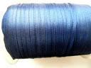 Лента атласная 4 мм, синяя темная