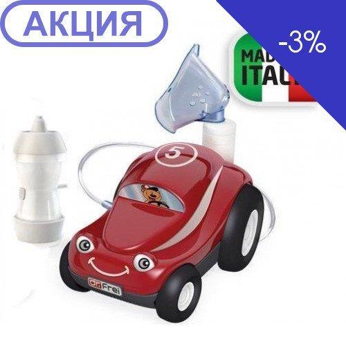 Ингалятор, распылитель компрессорного типа Доктор Фрей Turbo Car с детской маской (Dr.Frei)