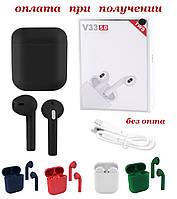 Беспроводные вакуумные Bluetooth наушники Apple AirPods PRO inPods V33 TWS с зарядным боксом СЕНСОРНЫЕ РОЗНИЦА, фото 1