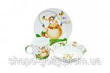 Набор детской посуды Овечка 3 предмета Оселя