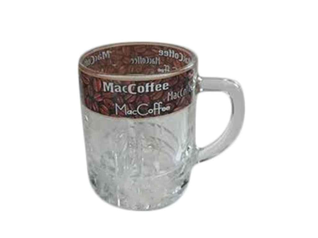 Чашка скляна 280мл Венеція Кава коричнева 18с2028 ТМ ОСБ