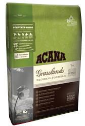 ACANA GRASSLANDS DOG Полноценный и сбалансированный корм ДЛЯ СОБАК ВСЕХ ПОРОД И ВОЗРАСТОВ 6кг