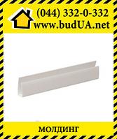 Молдинг белый для панели толщиной 10мм