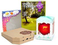 Разработка, изготовление и поклейка картонной упаковки