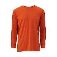 Uniqlo Яркий мужской реглан Heattech Оранжевый, L