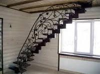 Расчет лестниц с поворотом на 90