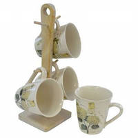 Набор чашек чайных Hortensie 5 предметов Krauff 24-269-051