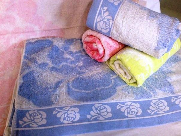 АКЦИЯ! Светлое махровое банное полотенце Роза Жаккард