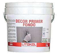 Litokol DECOR PRIMER FONDO - праймер для подготовки оснований перед нанесением Starlike Deco 5кг (DCRFND0005 )