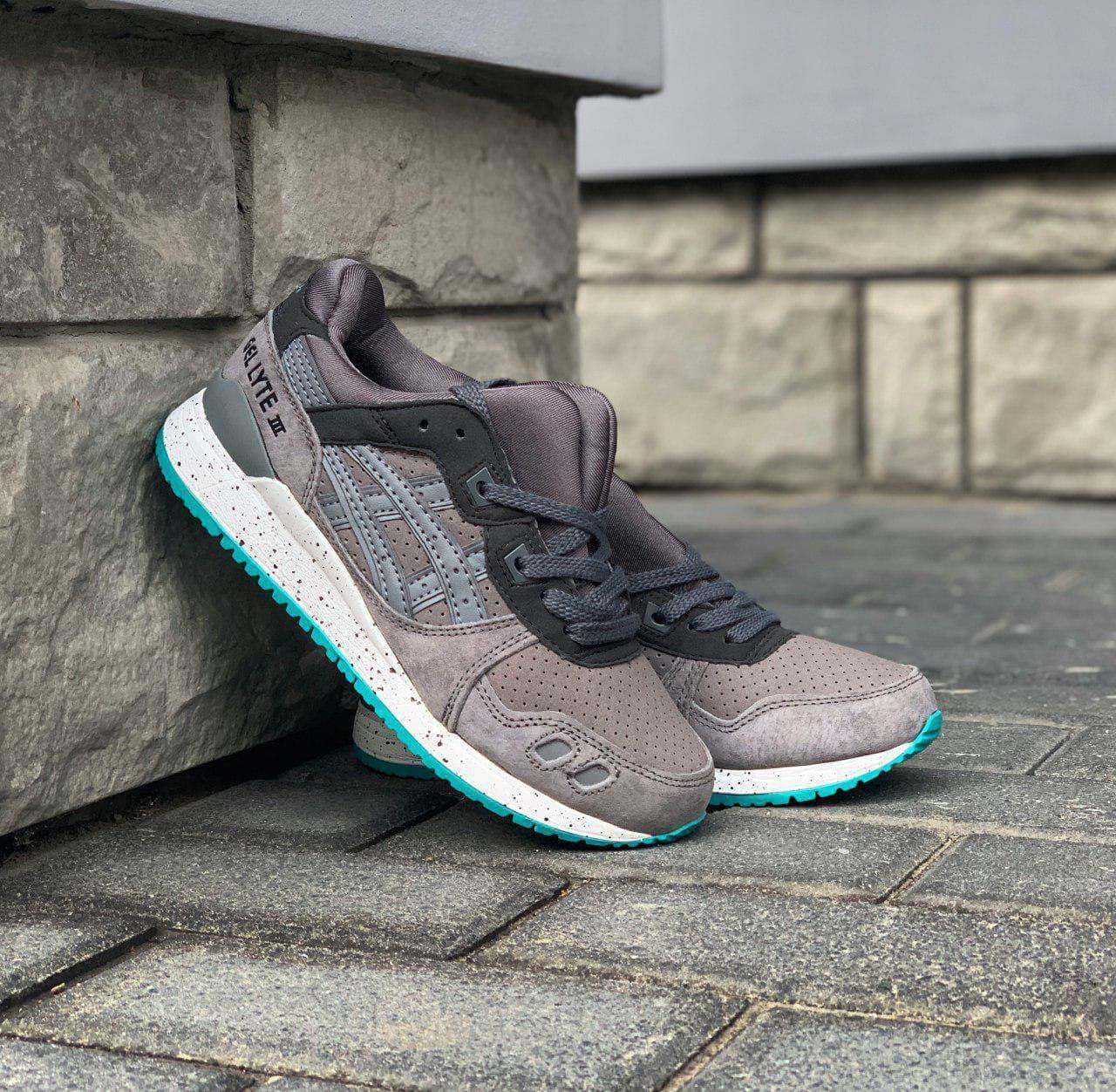 """Кроссовки Gel Lyte III MT """"SneakerBoot"""" Grey Black арт. 4768"""
