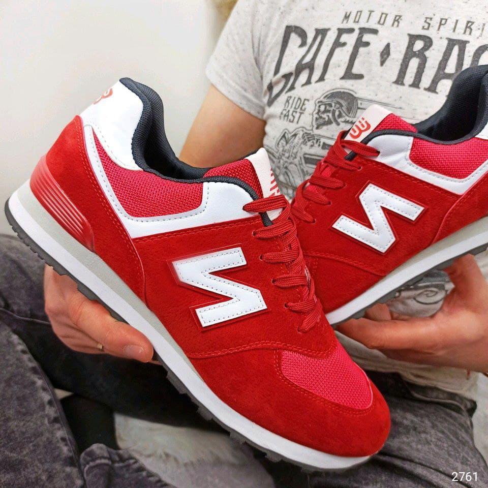 Мужские кроссовки New Balance красный