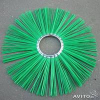 Щетка дисковая полипропилен 120х550 под проставку( диск щеточный)
