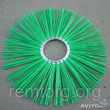 Щітка дискова поліпропілен 120х550 під проставку( диск щітковий)