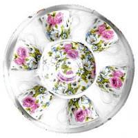Набор чайный Розы Оселя 21-245-002