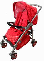 Детская коляска прогулочная Babylux ruby красный