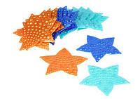 Морская звезда синяя ОРТОпедическая. Оптом мини-коврик, фото 1