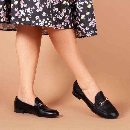 Женские легкие туфли кожаные