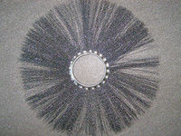 Щітка дискова металева 120х550 під проставку (диск щітковий)