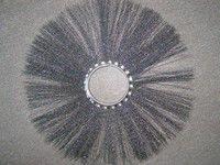 Щетка дисковая металлическая 120х550 под проставку (диск щеточный)