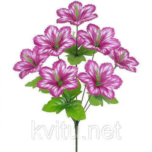 Искусственные цветы букет колокольчиков, 46см