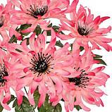 Штучні квіти букет хризантем, 50см, фото 2