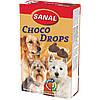 Sanal Choco Drops 125 г -шоколадные дропсы для собак+ Витамины A, C, D, E (SD2300) в таблетках