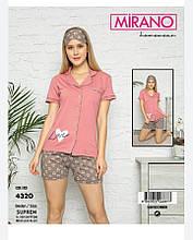 Пижама с шортами ,MIRANO