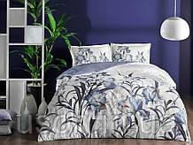 Комплект постельного белья сатин Tac размер евро Sarina Mor
