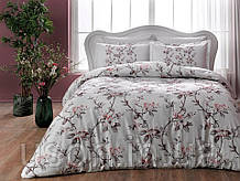 Комплект постельного белья сатин Tac размер евро Lotte Pink