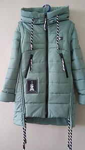 Весняна куртка-жилетка для дівчинки