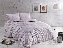Комплект постельного белья сатин Tac размер евро Castillo lila