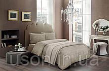 Комплект постельного белья сатин Tac размер евро Angel Gold