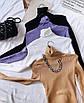 Женский гольф машинной вязки рубчик с высоким воротником (р 42-46) 77dm1113, фото 5