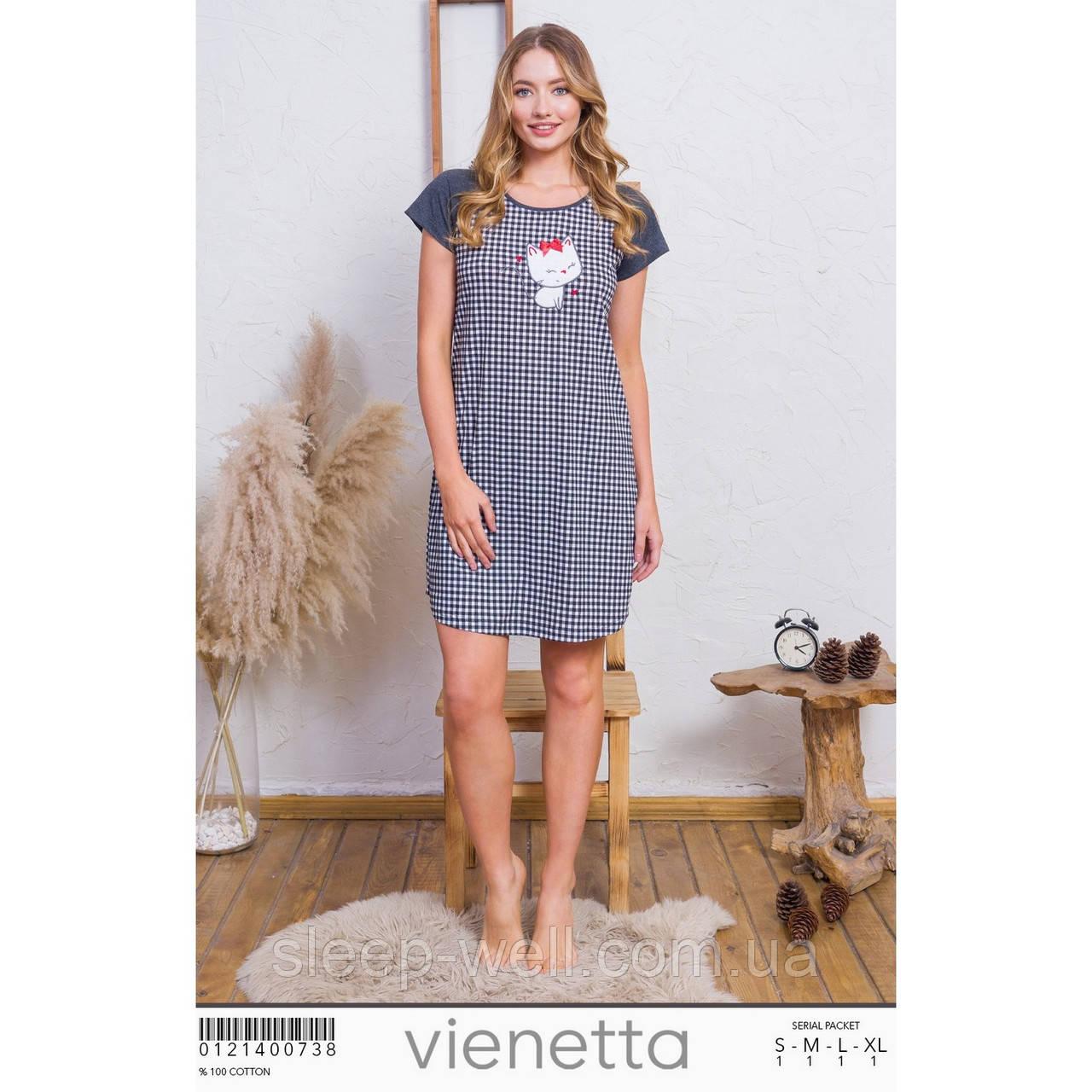 Ночная рубашка хлопок,Vinetta