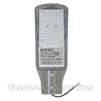 Консольний Led прожектор вуличний AVT-STL 100Вт 6000К IP65