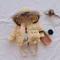 Дитячий демісезонний курточка для дівчинки (зріст 98), фото 1