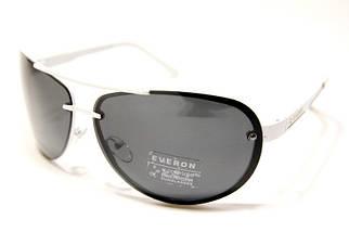 Чоловічі сонцезахисні окуляри Еверон P7051 H репліка Чорні з поляризацією